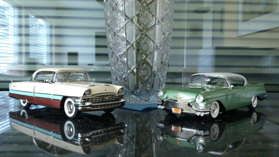 '56 Packard Caribbean and '57 Cadillac Eldorado